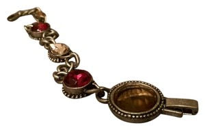 New Antique Silver Bracelet With Mult Stone