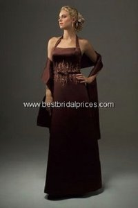 Venus Bridal Chocolate / Bronze Bella Bridesmaid Style 524 Dress
