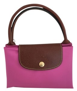 Longchamp Tote in Bubble Pink