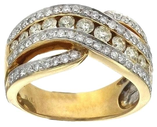 Preload https://item3.tradesy.com/images/ladies-18k-yellow-gold-white-and-yellow-diamond-cocktail-ring-4410562-0-0.jpg?width=440&height=440
