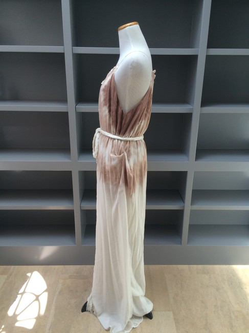 Cream/Taupe Maxi Dress by Young Fabulous & Broke