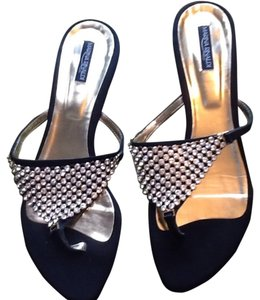 Marina Rinaldi Black and gold Sandals