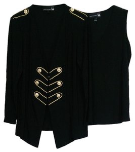 Antthony Mark Hankins Military Styled Jacket Set Cardigan