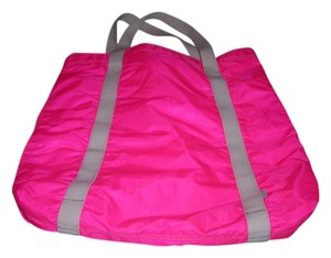 French Connection Fcuk Tote in hot pink