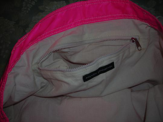 French Connection Fcuk United Kingdom Tote in hot pink