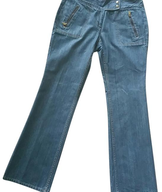 Michael Kors Relaxed Fit Jeans-Medium Wash