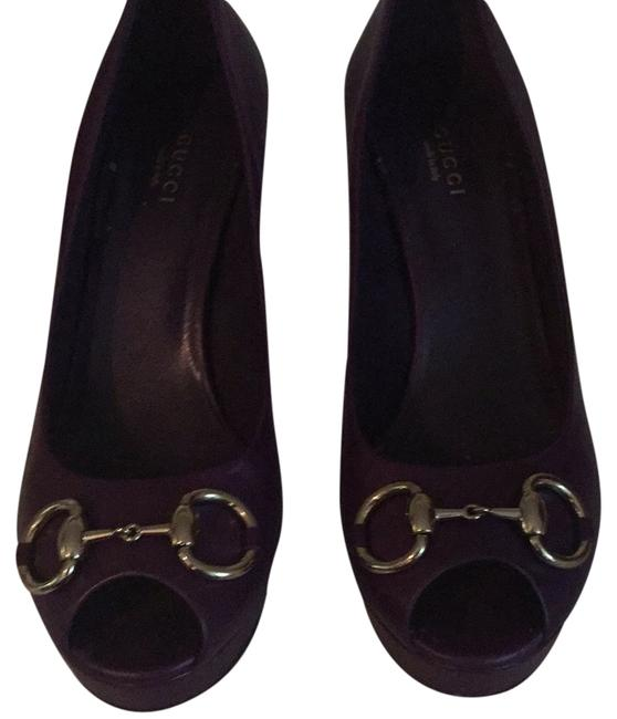 Item - Grape Royal (Purple) 283968/Nappa Charlotte Platforms Size US 9 Regular (M, B)