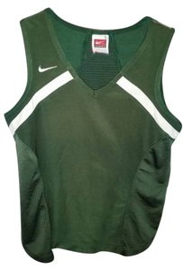 Nike Nike Fit Dry green/white multi-sport athletic top women's sz S (4-6)