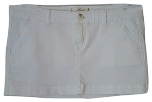 Hollister Casual Mini Mini Skirt white