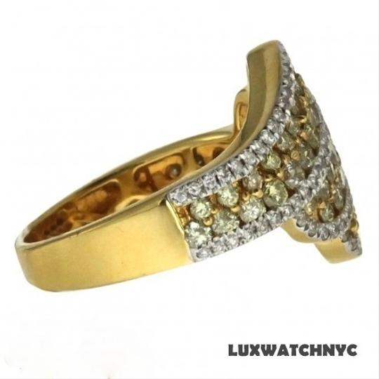 Other BRAND NEW, Ladies 18k Gold Yellow Diamond Cocktail Ring