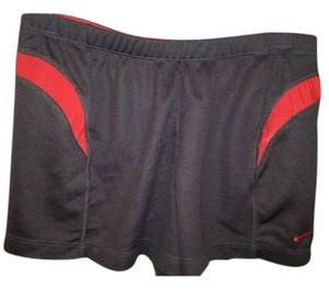 Nike Nike Dri-Fit athletic/running shorts black/red - ladies S (4-6)
