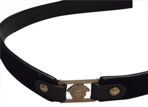 Versace Versace pony hair belt