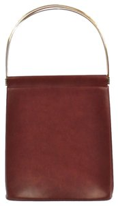 Cartier Wristlet in Burgundy