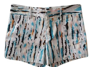 Calvin Klein City Dress Shorts Multi-color blue, tangerine, white, black