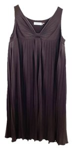 Calvin Klein Pleated Polyester Dress