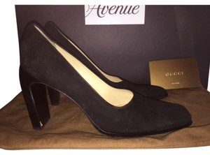 Gucci Suede Pump Fall Winter Black Pumps