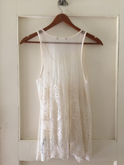 Forever 21 Floral Lace Sheer Pretty Long Girly Tunic - 9% Off Retail on sale