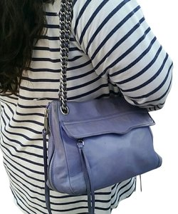 Rebecca Minkoff Classic Look Sexy Style Satchel in blue
