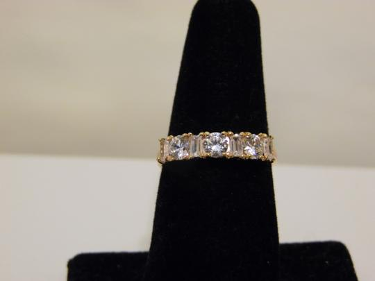 Other Absolute Baguettes and Round Band Ring 8