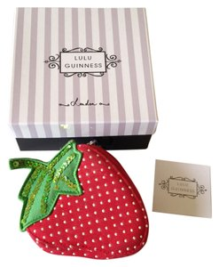 Lulu Guinness Adorable Lu Lu Guinness Strawberry change purse
