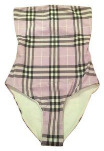 Burberry Burberry swimsuit Open Back Lilac Xs Nwt