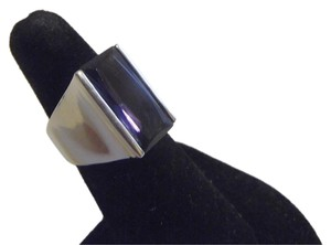 Technibond Technibond Elongated Amethyst Ring Size 8