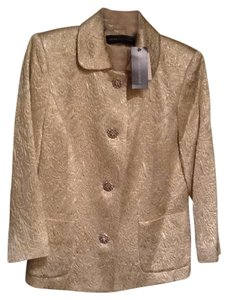 Dana Buchman Date Night Evening Nice Gold Jacket