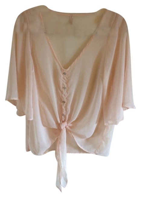 Nasty Gal Top Blush Pink