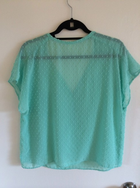 Nasty Gal Top Mint Green