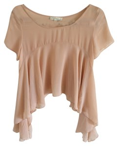 Nasty Gal Top Blush / Tan