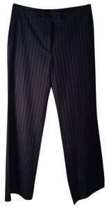 Burberry London Capri/Cropped Pants Navy Pinstripes