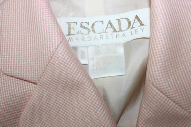 Escada Wool Light Orange Blazer