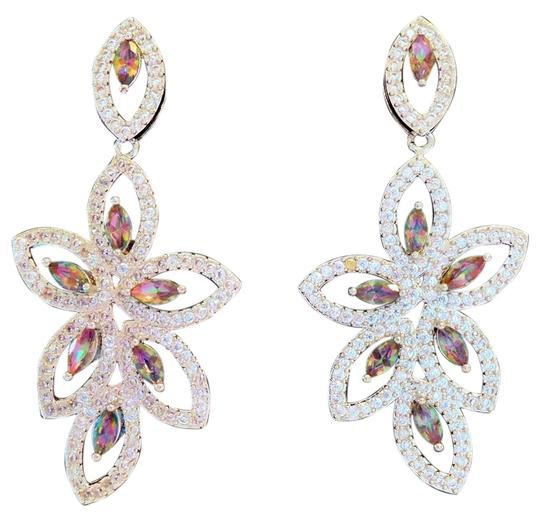 Preload https://item5.tradesy.com/images/multicolor-long-dangle-mystic-topaz-and-white-topaz-925-sterling-silver-earrings-4419994-0-0.jpg?width=440&height=440