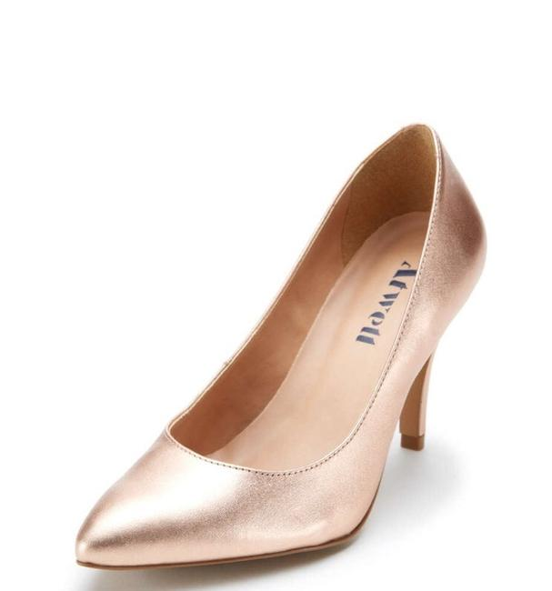 Item - Rose Gold Metallic Evening Leather Stiletto Pumps Size US 8.5 Narrow (Aa, N)