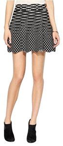 Piperlime Mini Skirt Black & white