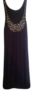 BCBG Paris short dress Brown/gold brown beading on Tradesy