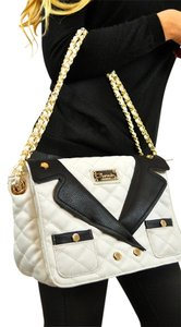 Carmin Channel Blazer Shoulder Bag