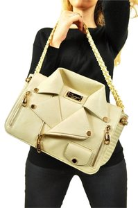Carmin Moto Jacket Crossbody Cross Body Zippers Pocket Designer Chain Strap Shoulder Bag