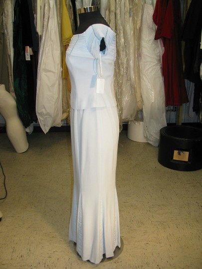 Daymor Couture Soft Crystal Crepe 4003 Mother Of Bride / Groom - (Mr291) Formal Bridesmaid/Mob Dress Size 8 (M)