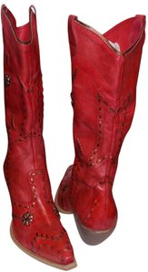 BCBGeneration Red Boots
