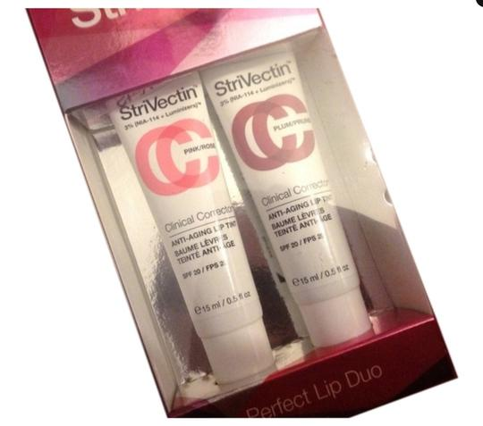 StriVectin New Strivectin NIA 114 Antiaging Lip Tint Perfect Duo Set Spf20 Pink Rose Plum $39 value