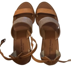 Barbara Barbieri Brown Sandals