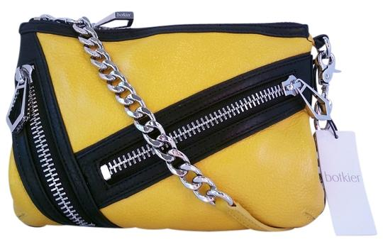 Preload https://item2.tradesy.com/images/botkier-cruz-colorblock-citronblack-leather-cross-body-bag-4422781-0-0.jpg?width=440&height=440