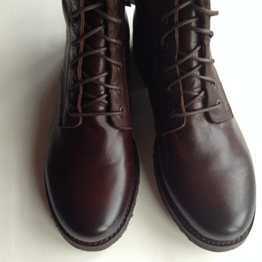 Frye Leather Quality Dark Brown Boots