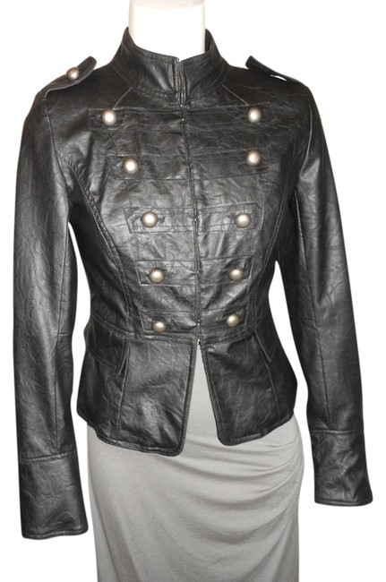 Preload https://item2.tradesy.com/images/forever-21-black-xxi-faux-leather-miltary-jacket-size-petite-4-s-4423471-0-0.jpg?width=400&height=650