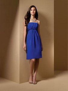 Alfred Angelo Cobalt Style 7015 Dress