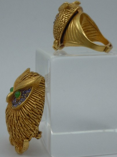 Askew Askew London Owl Brooch and Ring