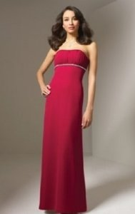 Alfred Angelo Claret Style 7077 Dress