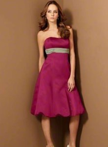 Alfred Angelo Claret / Celedon Style 6453 Dress