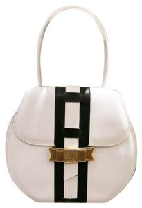 Céline Satchel in Black and White